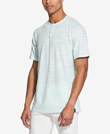 DKNY Men's Henley Shirt