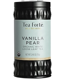 Tea Forte LTC Vanilla Pear White Loose-Leaf Tea