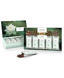 Tea Forte Single Steep Lotus Tea Sampler