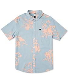 RVCA Men's Sage Vaughn Flora Graphic Shirt