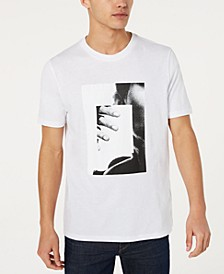HUGO Men's Picture in Picture Graphic T-Shirt