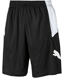 "Puma Men's Colorblocked Logo 10"" Shorts"