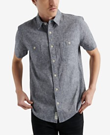 Lucky Brand Men's Regular-Fit Chambray Shirt