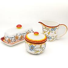 Euro Ceramica Duomo Breakfast Accessory Set