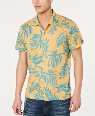 short sleeve mens casual button down shirts \u0026 sports shirts macy\u0027s
