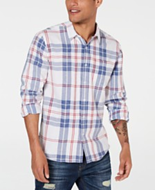 American Rag Men's Xavier Plaid Shirt, Created for Macy's