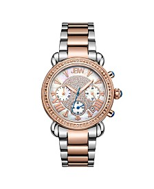 JBW Women's Victory Diamond (1/6 ct.t.w.) Stainless Steel Watch