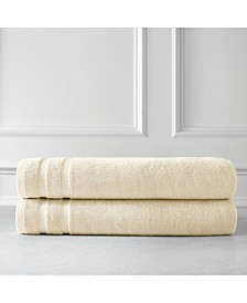 Southshore Fine Linens Oversized Premium Cotton Bath Sheets Set of 2, Bath Sheet Set