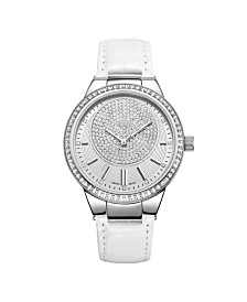 JBW Women's Camille Diamond (1/6 ct.t.w.) Stainless Steel Watch