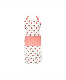 Watermelon Print Chef Apron