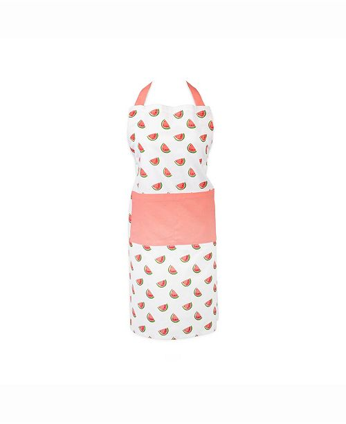 Design Import Watermelon Print Chef Apron