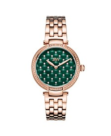 Women's Gala Diamond (1/5 ct.t.w.) 18K Rose Gold Plated Stainless Steel Watch