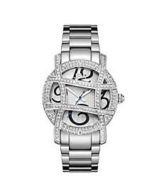 Women's Olympia Diamond (1/5 ct.t.w.) Stainless Steel Watch