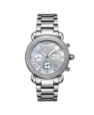 Women's Victory Diamond (3/4 ct.t.w.) Stainless Steel Watch
