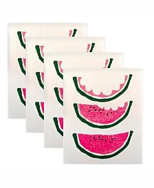 Watermelon Swedish Dishcloth Set of 4