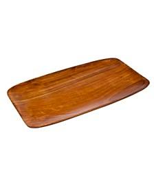 Godinger Rectangle Wood Serving Plate