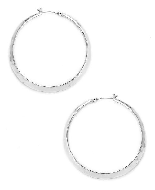 Kenneth Cole New York Textured Hoop Earring