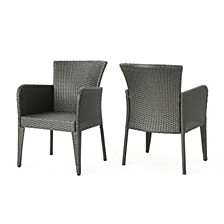 Anaya Outdoor Dining Chair, Set of 2