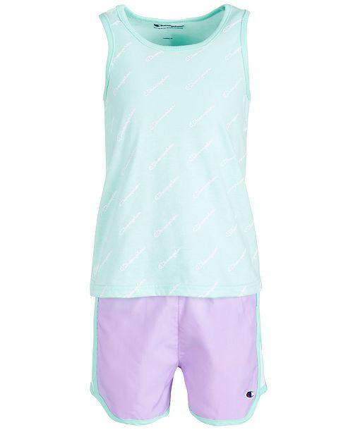 Champion Toddler Girls 2-Pc. Tank Top & Shorts Set