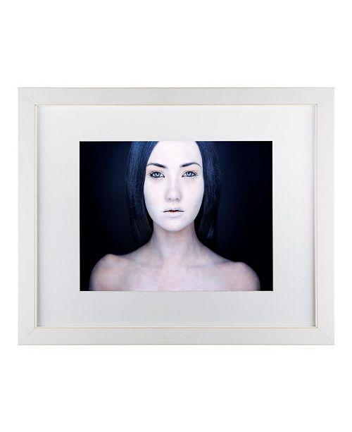 """Trademark Global Oren Hayman 'Before The Storm' Matted Framed Art - 14"""" x 11"""" x 0.5"""""""