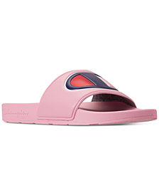Champion Girls' IPO Slide Sandals from Finish Line