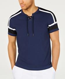 I.N.C. Men's Attila Mesh-Trim T-Shirt, Created for Macy's