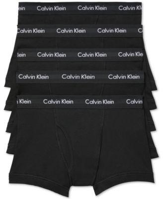 캘빈 클라인 Calvin Klein Mens 5-Pk. Cotton Classic Trunks