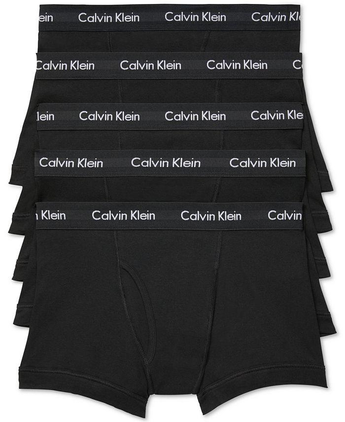 Calvin Klein - Men's 5-Pk. Cotton Classic Trunks