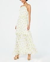 cf449cd4b3f3 Betsey Johnson Ruffled Floral-Print Maxi Dress