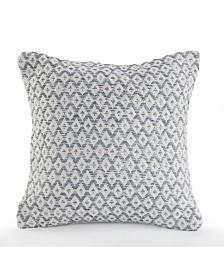 Adjoining Diamonds Throw Pillow