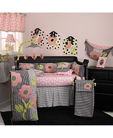Poppy 4-Piece Crib Bedding Set  Crib