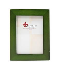 """Lawrence Frames Green Wood Picture Frame - Gallery Collection - 2"""" x 3"""""""
