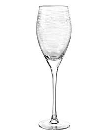 Qualia Glass Graffiti Wine Glasses, Set Of 4