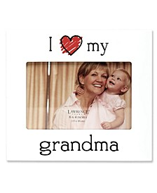 """I Love My Grandma"" Picture Frame - 6"" x 4"""