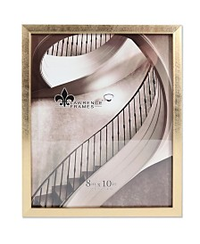 "Lawrence Frames Chloe Contemporary Gold Picture Frame - 8"" x 10"""