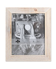 """Sarasota Whitewash and Weathered Natural Wood Picture Frame - 8"""" x 10"""""""