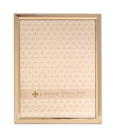 "Gold Metal Picture Frame - Classic Bevel - 8"" x 10"""