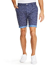 Men'S Modern-Fit Stretch Dot Shorts