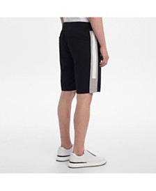 Karl Lagerfeld Paris Men's Color Block Knit Short