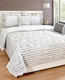 Sohome Studio 3-Piece 100% Cotton Queen Duvet Set