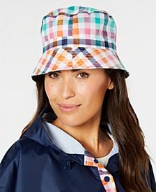 Printed Bucket Rain Hat