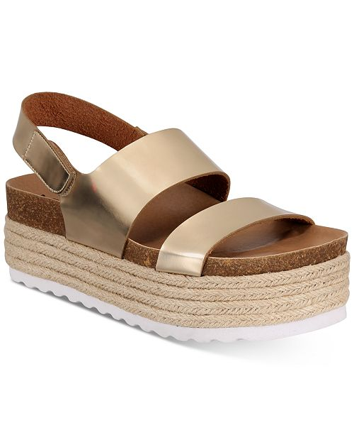 Dirty Laundry Peyton Espadrille Flatform Sandals