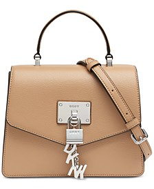 Elissa Top Handle Leather Satchel, Created for Macy's