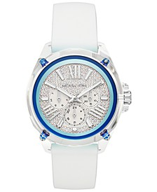 Women's Wren White Silicone Strap Watch 42mm