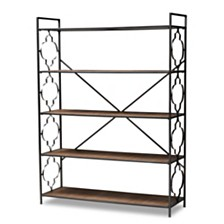 Mirna Bookcase, Quick Ship