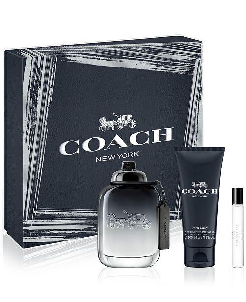 COACH FOR MEN Eau de Toilette 3-Pc. Gift Set