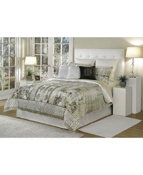 Spectrum Home Quinn Comforter Set - King