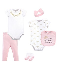 Little Treasure Clothing Set, 6 Piece Set, 0-12 months