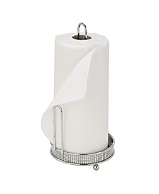 Paper Towel Holder in Pave Diamond