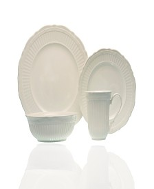 Red Vanilla Tuscan Villa 16-piece Dinner Set with Coupe Bowl